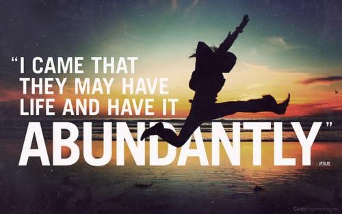 Create A Love Affair With Abundance