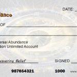 Write Yourself A Check To Make More Money