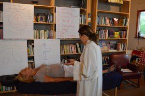 Rachael Zink performing Ruach Healing