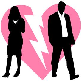 divorce or break up