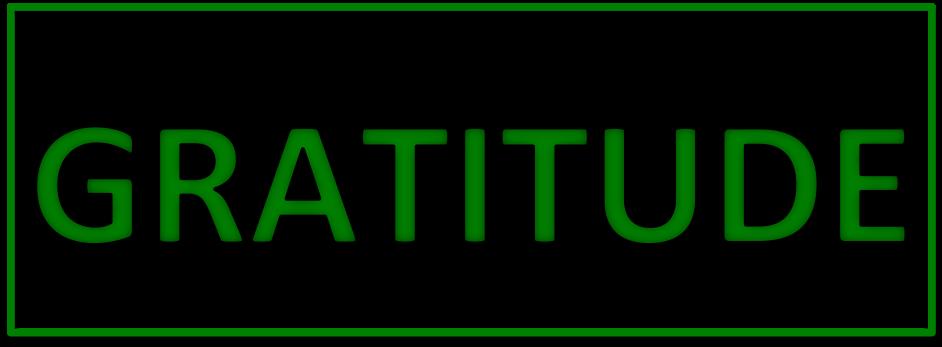 Gratitude Wallet Insert