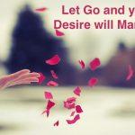 How do you let go?
